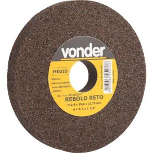 """Rebolo Reto Ferro 6 X 3/4"""" G080 Vonder"""