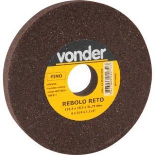 Rebolo Reto Ferro 6 X 3/4 G120 Vonder