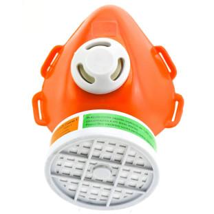 Respirador 1/4 Semi Facial Com Filtro Vo+Ga Plastcor