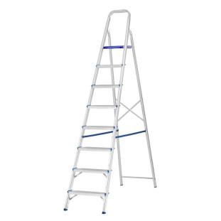 Escada Alumínio 08 Degraus Prima