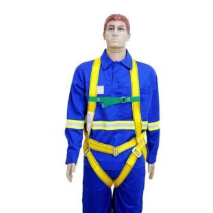 Cinto de Segurança Paraquedista Amarelo Vitória Martins