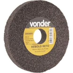 """Rebolo Reto Ferro 6 X 3/4"""" G036 Vonder"""