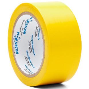 Fita Demarcação Amarela 48mm x 30 mt Plasticor