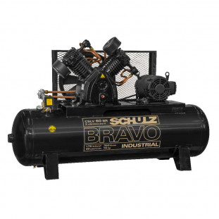 Compressor Ar Cslv-60Br/350 135-175Psi- 15Cv Bravo 220/380V Schulz