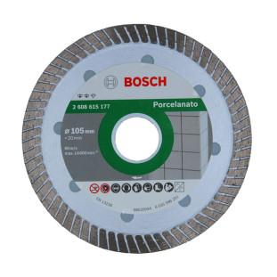 Disco Diamantado 105Mm Porcelanato Turbo Fino Expert Bosch
