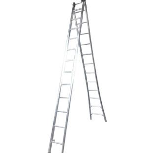 Escada Alumínio Extensiva 24 Degraus 2 x 12 Alustep