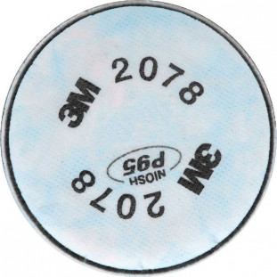 Filtro 2078 -P2 Poeiras/ Fumos/ Nevoas+Vo /Ga 3M