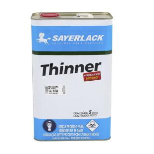 Thinner Galão 5 Litros - Sayerlack